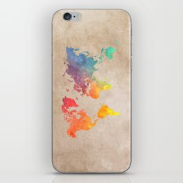 World Map Maps #map #maps #world iPhone Skin