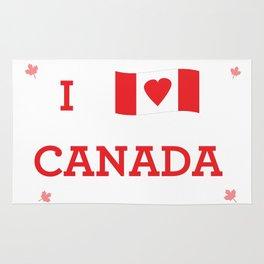 I heart Canada Rug