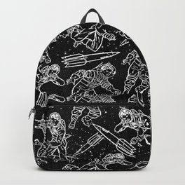 Space Travellers-Fun Doodles - Mix and Match with Simplicity of Life Backpack