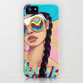 Disco Eyes iPhone Case