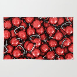 Kettlebells RED Rug