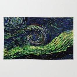 Van Gogh, nuit étoilée, the starry night– Van Gogh,Vincent Van Gogh,impressionist,post-impressionism Rug