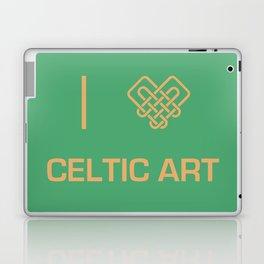 I heart Celtic Art Laptop & iPad Skin