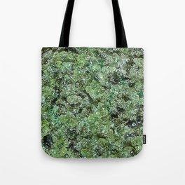Raw Peridot Tote Bag