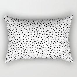 Tiny Doodle Dots Rectangular Pillow