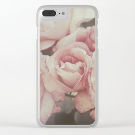 Aunt Mary's roses Clear iPhone Case