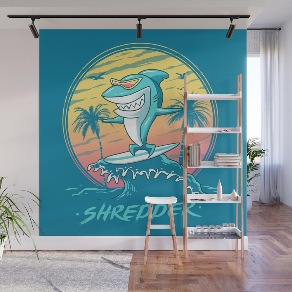 Shredder Wall Mural by Vincenttrinidad WMP8356913