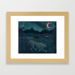 Rougarou Framed Art Print