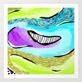 Abstract Study No. 2 Art Print