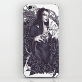 Morticia Addams iPhone Skin