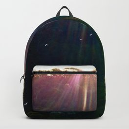 Whimsical Blue Mountains Backpack
