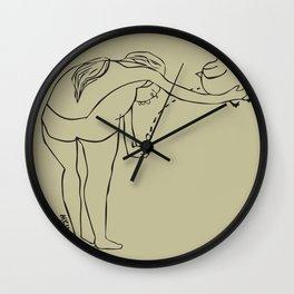 Bird Dropping Wall Clock