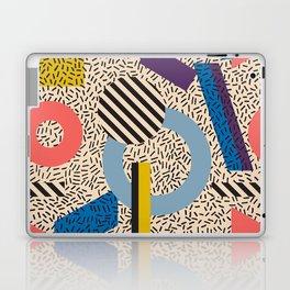 Memphis Inspired Pattern 3 Laptop & iPad Skin
