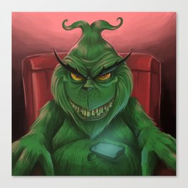The Grinch 2017 Canvas Print