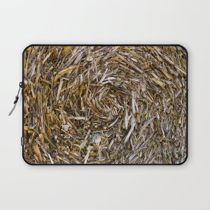 Rolled Hay Laptop Sleeve