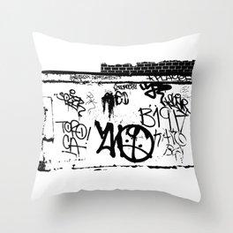 NYC Graffiti 2 Throw Pillow