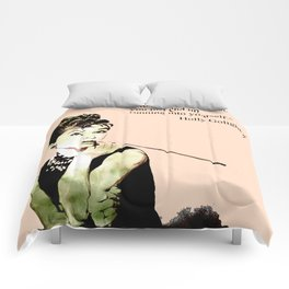 MISS GLOLIGHTLY - Breakfast at Tiffany´s - QUOTE Comforters
