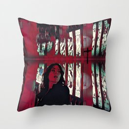 Confessional: Frame Rate Throw Pillow