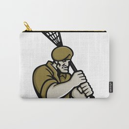 Commando Lacrosse Mascot Carry-All Pouch
