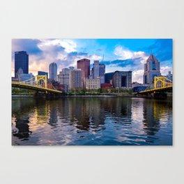 Beautiful Pittsburgh Canvas Print