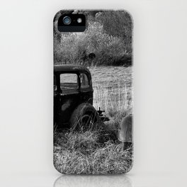 The two Old Timers iPhone Case
