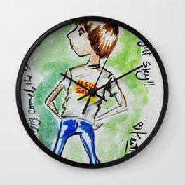 Moonie Wall Clock
