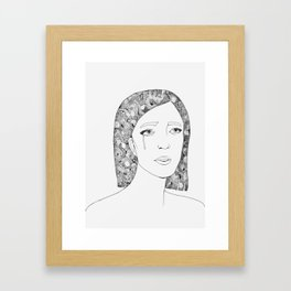 Woman 2 Framed Art Print