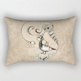 TimeLoopParadox // (metaphysical goose) Rectangular Pillow