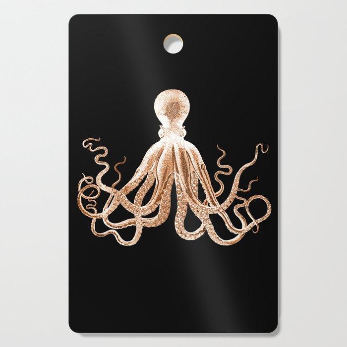 Octopus sea nautical beach coastal Cutting Board