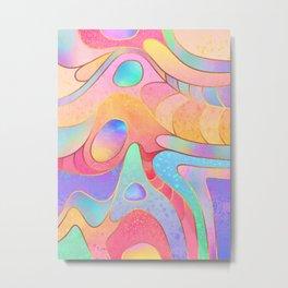 Candy Rainbow Metal Print