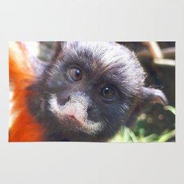 White-lipped tamarin monkey Rug