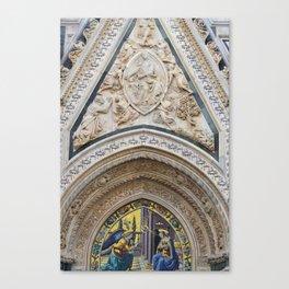 Gold Mosaic  Canvas Print
