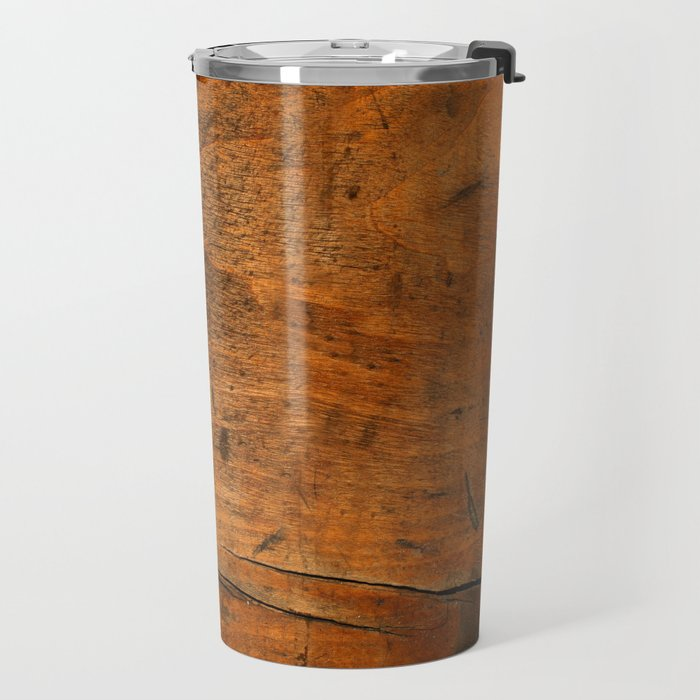 Wood Texture 340 Travel Mug