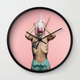 RainbW #5 Wall Clock