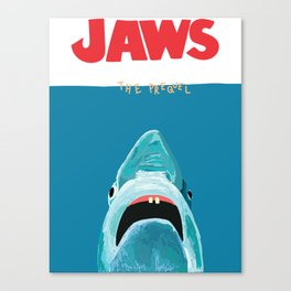 JAWS the prequel Canvas Print