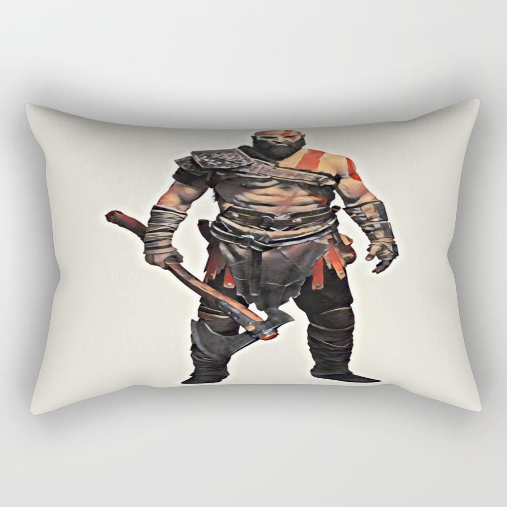 Kratos - God Of War 4 Rectangular Pillow RPW8977527