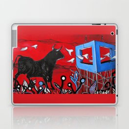 Trapped Bull Laptop & iPad Skin