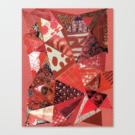 Collage - Red Hott Canvas Print