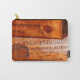 Wine crates Carry-All Pouch