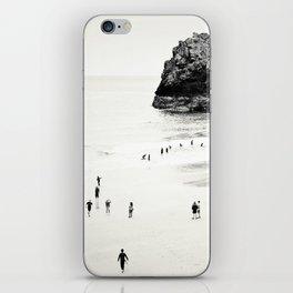 Cornwall beach life iPhone Skin