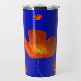 Poppies in the sun Travel Mug