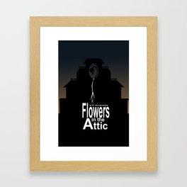 Flowers in the Attic Poster Framed Art Print