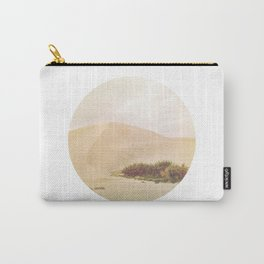 Desert Oasis Circle Carry-All Pouch