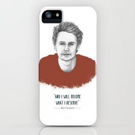 "Ben Howard ""The Fear"" iPhone Case"