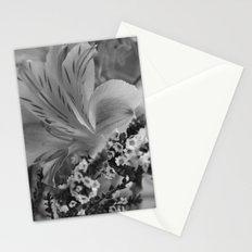 Freesia 2 B&W Stationery Cards