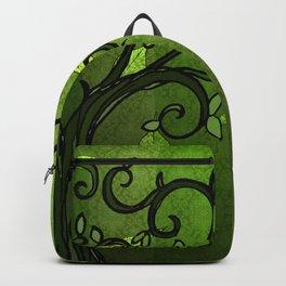 LEAVE - Summer Green Backpack