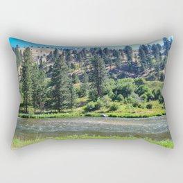 Payette River Scene ~ I Rectangular Pillow