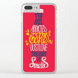 Coke Clear iPhone Case