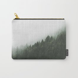 Green with Fog Carry-All Pouch