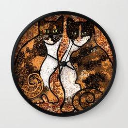 Faith and Reba Wall Clock